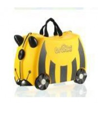 สีเหลือง TRUNKI กระเป๋าเดินทางสำหรับเด็ก ลากได้ ขี่ได้ รับน้ำหนักได้ถึง 50 กก.