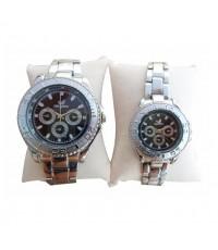 Orlando นาฬิกาคู่รัก นาฬิกาข้อมือคู่รัก เซ็ตคู่ นาฬิกาคู่ สายสแตนเลส นาฬิกาข้อมือ ทันสมัย วัสดุคุณภ