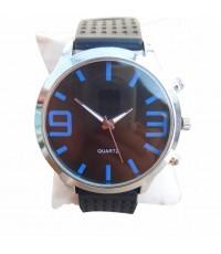 QUARTZ นาฬิกาข้อมือ นาฬิกาข้อมือแฟชั่น นาฬิกาผู้ชาย ผู้หญิง วัยรุ่น ทันสมัย ราคาถูก [Blue]