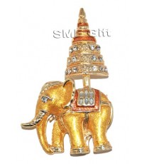 ช้างทรงฉัตร 6 ชั้น (สีสามกษัตริย์)