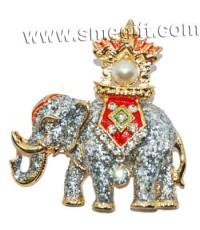 ช้างทรงมุก (สีกากเพชร)