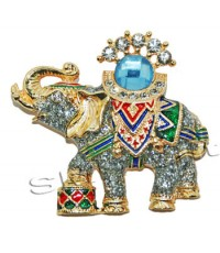 ช้างเหยียบกลอง (สีกากเพชร)