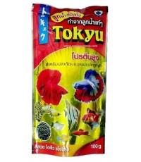 Tokyu ลูกน้ำอัดเม็ด 100 g. เม็ดจิ๋ว