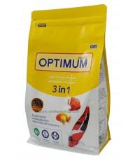 OPTIMUM 3 in 1 สาหร่าย 6 ๐/๐ 800 g. เม็ด M