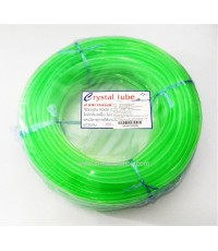 สายยาง Crystal สีเขียว