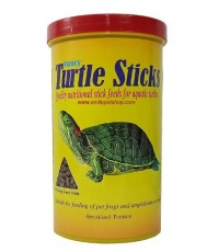 Classica Fancy Turtle Sticks 550ml./210 g. อาหารเต่าน้ำ กบ และสัตว์ครึ่งบกครึ่งน้ำ