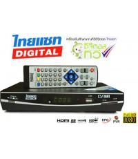 เครื่องรับสัญญาณดิจิตอลทีวี THAISAT รุ่น RV-002