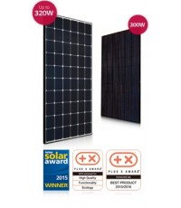 LG SOLAR PANEL NEON II BLACK 300 WATTS