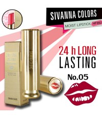 24h Long Lasting Lipstick SIVANNA ลิปสติกเนื้อแมท ราคาส่งถูกๆ NO.05 W.23 รหัส L170
