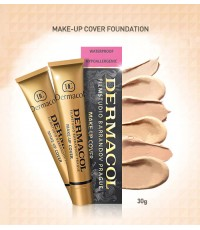 dermacol make-up cover  เดอมาโคล รองพื้นเทพ (เบอร์.207) 30g. ราคาส่งถูกๆ W.50  รหัส F74