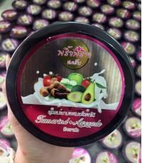 พริ้วพราวสครับไวท์ Tamarind Avocado Scrub 360g.ราคาส่งถูกๆ  W.405 รหัส SP86