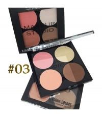 Cheek  Contour Palette Sivanna (No.03) ราคาส่งถูกๆ W.85 รหัส BO239