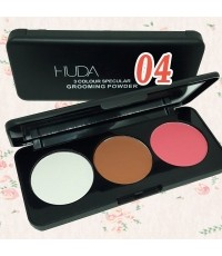 HUDA BEAUTY 3Colour Specular Grooming Powder (No.04) W.98 รหัส BO95