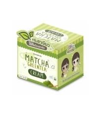 Matcha Greentea Cream by Baicha Skincare 10 g. ราคาถูก W.60 รหัส TM151