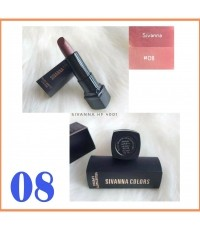 SIVANNA COLORS Lipstick hf4001 No.08 ราคาส่งถูกๆ W.50 รหัส L668