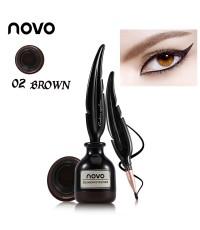 Novo Cushion Eyeliner No.02 BROWN ราคาส่งถูกๆ W.40 รหัส AL84