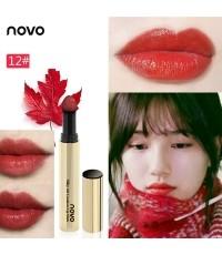 ลิปคุชชั่นหัวฟองน้ำ Novo Silky Mist Air Cushion LipStick No.12 ราคาส่งถูกๆ W.30 รหัส L532