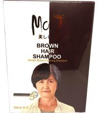 Mooi Brown Hair Shampoo แชมพูปิดผมขาว ราคาส่งถูก ๆ  W.185 รหัส H59-1
