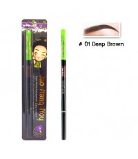 Jao Nang Noy Super Slim Fit Auto Eyebrow สี 01 Deep Brown ราคาส่งถูกๆ W.25 รหัส K170