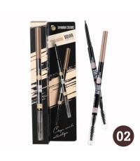 SIVANNA COLORS Crayon Sources Automatique Eyebrow Pencil สี 02 ราคาส่งถูกๆ W.30 รหัส K176