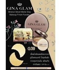 GINA GLAM mineral valvat matte stay makeup No.01 ราคาส่งถูกๆ W.105 รหัส MP86