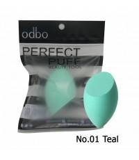 odbo โอดีบีโอ เพอร์เฟค พัฟ บิวตี้ ทูล No.01 Teal ราคาส่งถูกๆ W.30 รหัส EM264