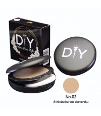 DIY Define Your Style Foundation Powder แป้งพัฟ แป้งผสมรองพื้น No.02 ราคาส่งถูกๆ W.58 รหัส MP180