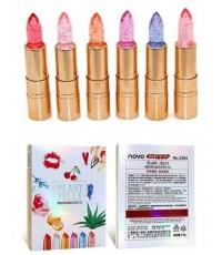 ลิปเจลลี่ Novo Plant jelly ลิปเจลลี่สีใสหอมหวานเปลี่ยนสีปาก NO.6 ราคาส่งถูกๆ W.63 รหัส L237