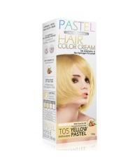 ครีมเปลี่ยนสีผมแคร์บิว CAREBEAU PASTEL HAIR COLOR CREAM T05 สีเหลืองพาสเทล W.165 รหัส H141