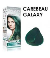 CAREBEAU แคร์บิว แฮร์ คัลเลอร์ ครีม กาแลคซี่ G-03 สีเขียวกาแลคซี่ ราคาส่งถูก ๆ W.150 รหัส H133