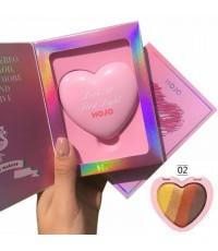 Hojo love eyeshadow อายแชโดว์ Love At First light No.2 ราคาส่งถูกๆ w.90 รหัส ES213