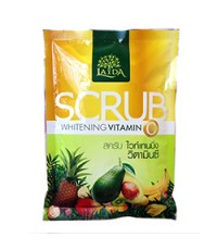 LADA Scrub Whitening Vitamin C ลดา สครับ ไวท์เทนนิ่ง วิตามินซี ราคาส่งถูกๆ W.165 รหัส BD127