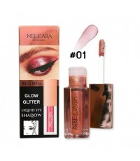 NEE CARA Glow Glitter-Liquid Eye Shadow นีคาร่า โกลว์ กลิตเตอร์ No.1 ราคาส่งถูกๆ w.50 รหัส ES218