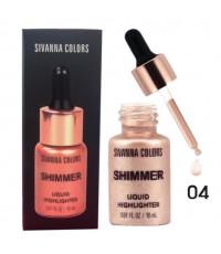 sivanna colors shimmer liquid highlighter ไฮไลท์ เนื้อลิควิค 04 ราคาส่งถูกๆ W.70 รหัส F269
