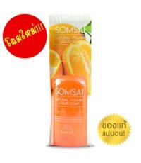 Natural vitamin soap สบู่ส้มใส สบู่วิตามินซีสด  ราคาส่งถูกๆ (300ml.) W.365  รหัส fc25