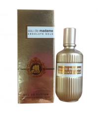 น้ำหอม MB PARFUM eau de madame Absolute Gold 100 ml. หอมยาวนาน ราคาส่งถูกๆ W.335 รหัส.A135