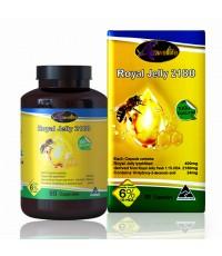 นมผึ้ง Auswelllife Royal Jelly 2180 mg. (ขนาด 60 แคปซูล) ราคาส่งถูกๆ W.165 รหัส GU13