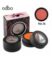 odbo Eye Shadow โอดีบีโอ อายเเชโดว์ OD260 เบอร์ 16 ราคาส่งถูกๆ w.40 รหัส ES503