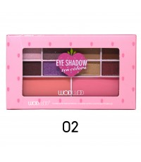 Wodwod Eyeshadow Ten Colors No.02 ราคาส่งถูกๆ W.90 รหัส ES43
