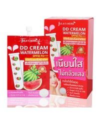 DD Cream Watermelon SPF50 PA+++ ดีดีครีมกันแดดแตงโม (ขายยกกล่อง) ราคาส่งถูกๆ W.100 รหัส S02