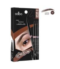 ODBOโอดีบีโอ อีซี่ ออโต้ สลิม อายบราว No.03 COFFEE BROWN ราคาส่งถูกๆ W.30 รหัส K96
