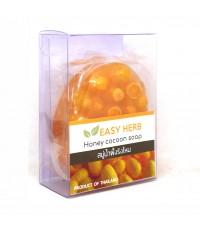 EASY HERB Honey cocoon soap สบู่น้ำผึ้งรังไหม ราคาส่งถูกๆ W.95 รหัส SP96