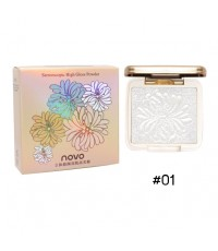 NOVO Stereoscopic High Gloss Powder Shading  Highlighting No.01 ราคาส่งถูกๆ w.60 รหัส BO435