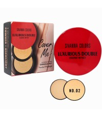 Sivanna Colors Cover Me luxurious Double Essence-In Pact HF6010 No.02 ราคาส่งถูกๆ W.120 รหัส MP332