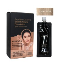 Merrezca Tester Excellent Covering Skin Perfecting Foundation LIGHT NUDE W.25 รหัส S01-1