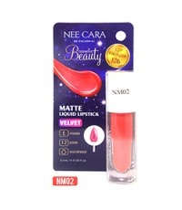 NEE CARA BE COLORFUL MATTE LIQUID LIPSTICK NMO2 ราคาส่งถูกๆ W.35 รหัส L31-2