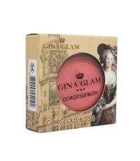 GINA GLAM GORGEOUS BLUSH SWATCH G88 No.04 ราคาส่งถูกๆ W.60 รหัส BO253-4