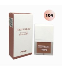 novo juice liquid blusher บลัชออนเนื้อครีม No.104 ราคาส่งถูกๆ W.50 รหัส BO101-4
