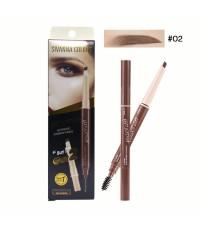 Sivanna Colors HD Extra Automatic Eyebrow Pencil No.02 ราคาส่งถูกๆ W.40 รหัส K23-2