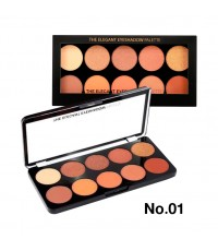Sivanna Colors The Elegant Eyeshadow Palette HF377 No.01 ราคาส่งถูกๆ W.140 รหัส ES46-1